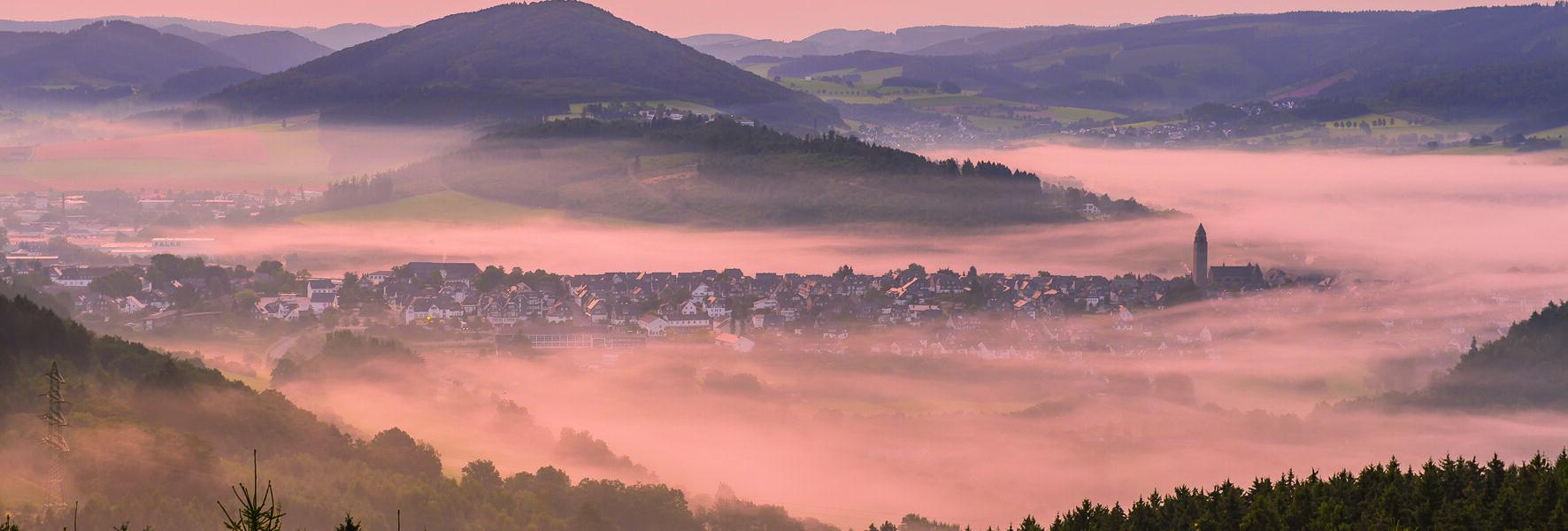 Schmallenberg Nebel
