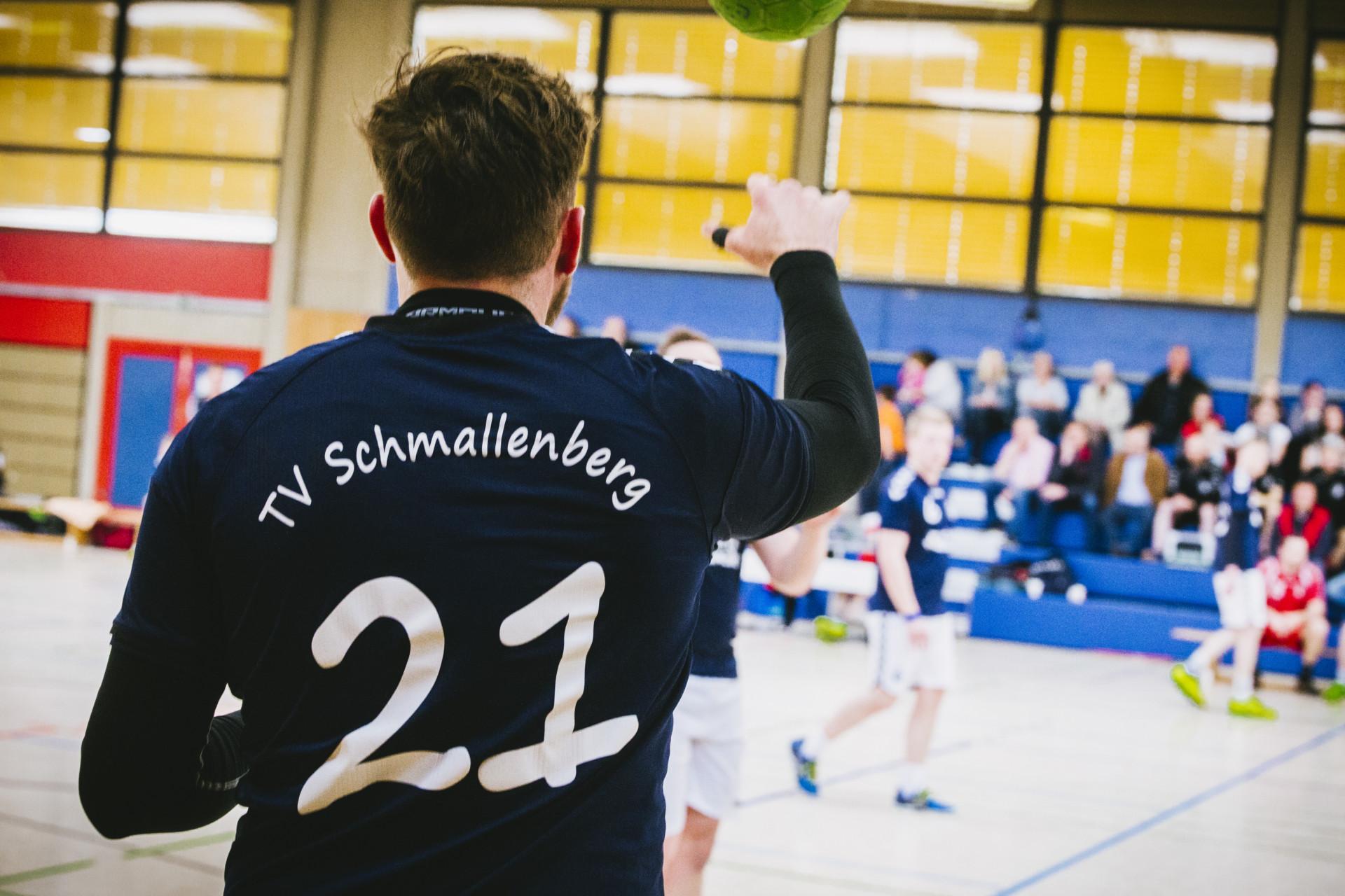 Handball Trikot mit der Nummer 21