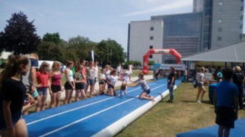 Turnerinnen nahmen am Landesturnfest in Hamm teil