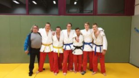 Judo-Männermannschaft im Sauerlandderby