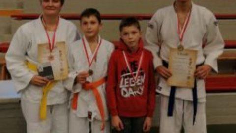 Judokas erfolgreich auf dem Sparkassen-Wanderpokal-Turnier
